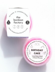 The Bonbon Factory Birthday Cake Whipped Body Wash Mousse, 200ml product photo