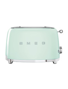 Smeg 2 Slice Toaster, Mint, TSF01 product photo