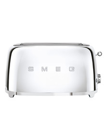 Smeg 4 Slice Toaster, Stainless Steel, TSF02 product photo