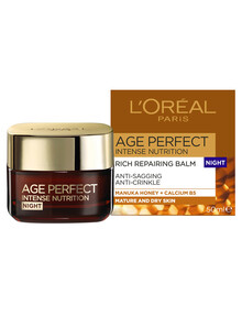 L'Oreal Paris Age Perfect Intense Nutrition Rich Repairing Night Cream product photo