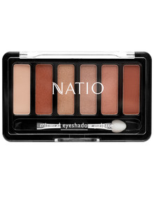 Natio Mineral Eyeshadow Palette, Sunset, 6g product photo