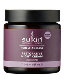 Sukin Purely Ageless Restorative Night Cream, 120ml product photo