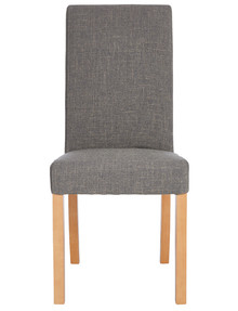 Luca Riley Dining Chair, Dark Grey product photo