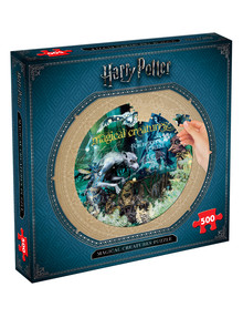 Harry Potter 500 Piece Puzzles - Assorted product photo