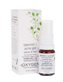 Oxygen Skincare Blemish Acne Gel for Problem Skin, 10ml product photo