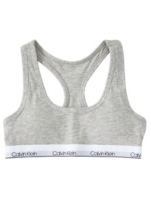 Calvin Klein Racerback Crop, Grey product photo