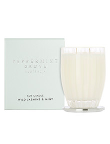 Peppermint Grove Candle, 350g, Wild Jasmine & Mint product photo