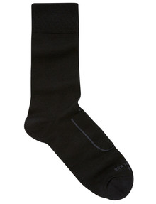 NZ Sock Co. Well Being NuYarn Sock, Black product photo