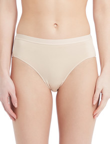 Lyric Microfibre Smooth High-Cut Brief, Nude product photo