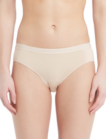 Lyric Microfibre Smooth Bikini Brief, Nude product photo
