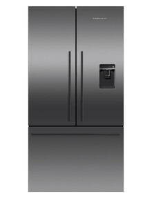 Fisher & Paykel 614L French Door Fridge Freezer, Black Stainless Steel, RF610ADUB5 product photo