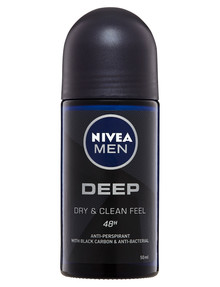 Nivea Men Deep Deodorant Roll On, 50ml product photo