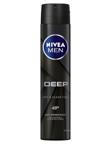 Nivea Men Deep Deodorant Aerosol, 250ml product photo