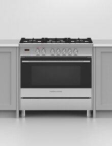 Fisher & Paykel Freestanding Duel Fuel Cooker 90cm OR90SCG1X1 product photo