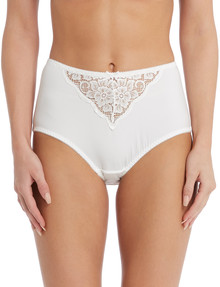Caprice Lily Full Brief, Ivory product photo