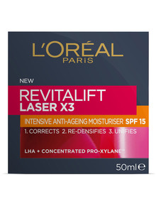 L'Oreal Paris Revitalift Laser X3 SPF15 Day Cream product photo