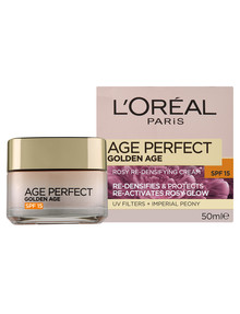 L'Oreal Paris Age Perfect Golden Age Rosy Re-Densifying Cream, SPF 15, 50ml product photo