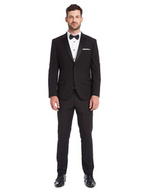 Laidlaw + Leeds Tailored Tuxedo Jacket, Black product photo