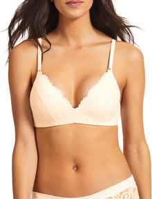 Perfects Be Real Lace Wirefree Bra, Shell product photo