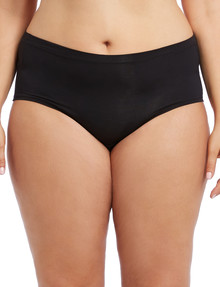 Lyric Curve Modal-Elastane Full Brief, Black product photo