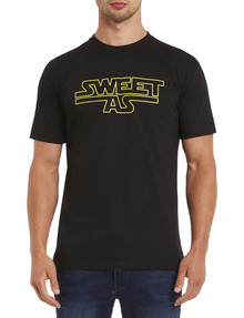Mr Vintage Sweet As Tee, Black, Size M product photo
