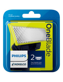 Philips OneBlade Pro Replacement Blades, 2-Pack, QP220/50 product photo