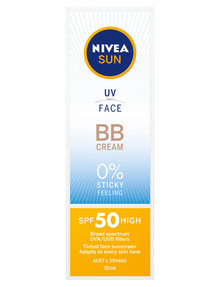 Nivea UV Face BB Cream Sunscreen SPF50, 50ml product photo