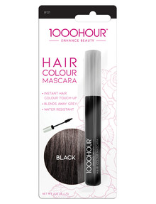 1000HR Hair Colour Mascara, Black product photo