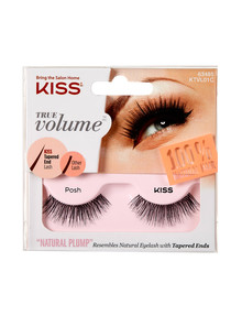 Kiss Nails True Volume Tapered End Natural Lashes, Posh product photo
