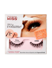 Kiss Nails True Volume Tapered End Natural Lashes, Ritzy product photo