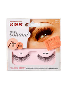 Kiss Nails True Volume Tapered End Natural Lashes, Chic product photo