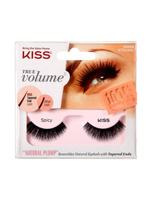 Kiss Nails True Volume Tapered End Natural Lashes, Spicy product photo