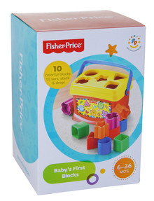 Fisher Price Baby's First Blocks product photo