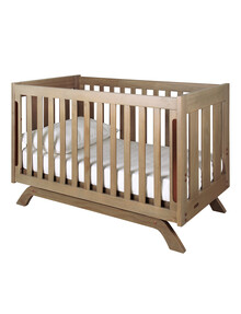 Grotime Retro Cot, Scandinavian Oak product photo