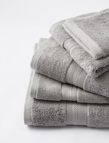 Mondo Somerset Bath Towel, Steel product photo