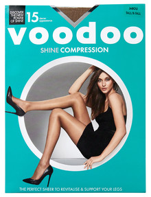 Voodoo Shine Compression Sheers, 15D, Jabou product photo