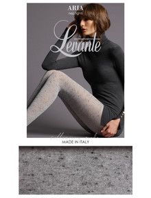 Levante Aria Nep Tight, Viscose & Wool, Grey product photo