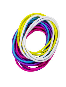Mae Elastics, Large Thin, Brights, Set-of-20 product photo