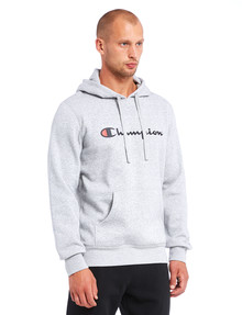Champion VF Script Hoodie Top, Grey Marle product photo