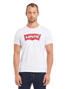 Levis Batwing Graphic Print Short-Sleeve Tee, White product photo