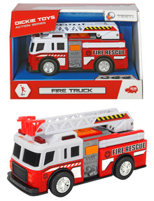 Dickie Small Light & Sound Rescue Vehicles, Assorted product photo