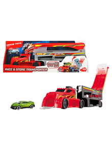 Dickie Race & Store Transporter with Die Cast Car product photo