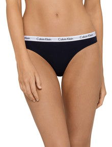 Calvin Klein Modern Cotton Bikini Brief, Black product photo