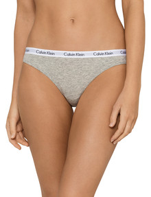 Calvin Klein Modern Cotton Bikini Brief, Grey Heather product photo