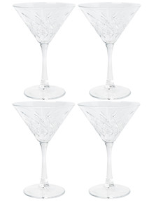 Salt&Pepper Winston Martini Glass, Set-of-4, 230ml product photo