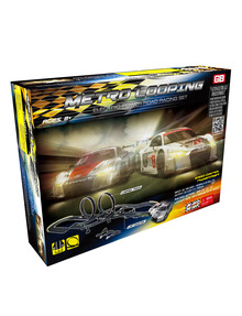Electric Powered, Metro Looping, Road Racing Set product photo
