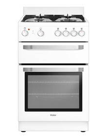 Haier 54cm Freestanding Gas Cooker, White, HOR54B5MGW1 product photo