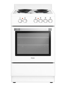 Haier 54cm Freestanding Cooker, White, HOR54S5CW1 product photo