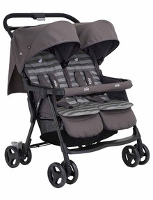 Joie Aire Twin Stroller, Dark Pewter product photo