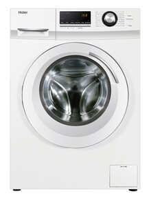 Haier 7.5kg Front Load Washing Machine, HWF75AW2, White product photo